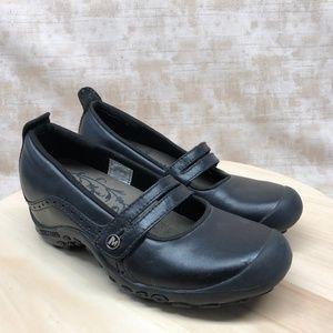 84a31bb49d7b Merrell Shoes - Merrell Plaza Bandeau Women Black Leather Shoe Q17